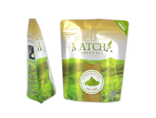 High barrier ziplock tea leaf packaging bag